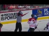Хоккей - Молодёжный ЧМ-2012. Матч за 3 место  Канада - Финляндия (4:0) 05.01.2012